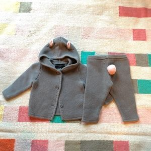 Victoria Beckham for Target sweater knit bunny set